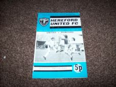 Hereford United v Romford, 1971/72